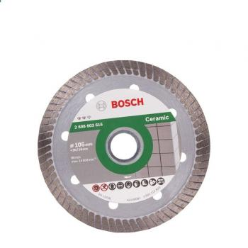 Đĩa cắt kim cương Bosch Turbo 105x16mm đa năng