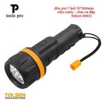 Đèn pin 3led chiếu xa 10m tolsen