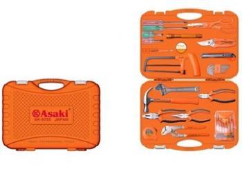 Bộ dụng cụ gia đình Asaki AK-9785 34 chi tiết