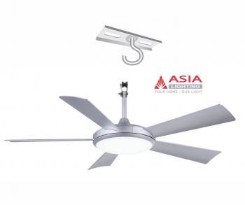 Quạt trần Asia QT01-T, Công suất 38W,  Sải cánh: 1320mm