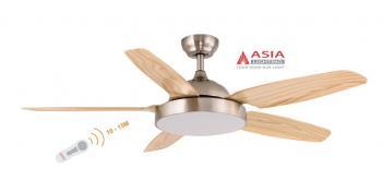 Quạt trần Asia QT04-G, Công suất 38W,  Sải cánh: 1370mm