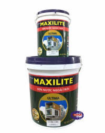 Sơn ngoài trời Maxilite Ultima bề mặt bóng LU1 5 lít