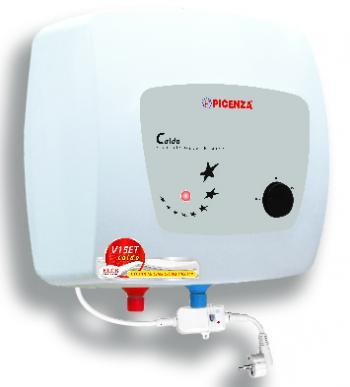 Bình nước nóng Picenza V20ET Bình 20 lít, Tráng men TITANIUM, chống rò điện