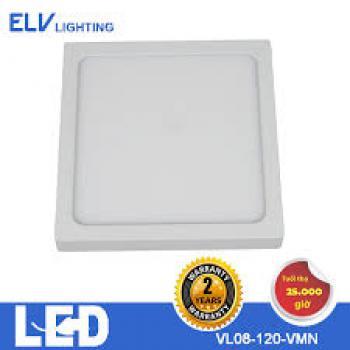 Đèn ốp ELV 8W vuông 3000K/4000K/6500K - VL08