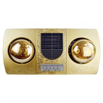 Đèn sưởi 2 bóng Kottmann K2B-HW-G kèm thổi gió nóng