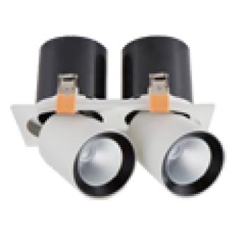 Đèn âm trần Vinaled 30W mẫu P DLS-PW30/ DLS-PB30