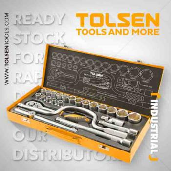 """Bộ típ Tolsen 15141 - 24 PCS 1/2"""""""