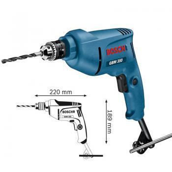 Máy khoan Bosch GBM 350 Khoan kim loại 350W - 10mm