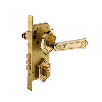 Khóa tay nắm phân thể HC 85 KING PVD Gold - Mạ vàng