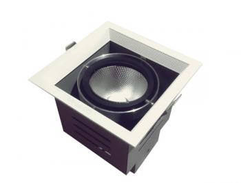 Đèn âm trần Vinaled mẫu H DL-HW1x15 15W, AS: 3000K/4000K/5000K, Vỏ trắng