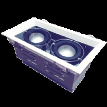 Đèn âm trần Vinaled mẫu H DL-HW1x15 30W, AS: 3000K/4000K/5000K, Vỏ trắng