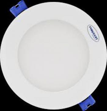 Đèn downlight âm trần 7W, đường kính 97mm, khoét lỗ 90mm, ánh sáng 3000/4200/6500K, 220-240V, pf≥0.5, 25000giờ, CRI≥80