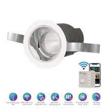 Đèn Downlight Smart Rạng Đông AT18.BLE 60/7W, dải màu: 2700K-6500K