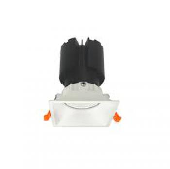 Đèn âm trần Vinaled mẫu F8 DL-F8W, Ánh sáng: 2700K/ 3500K/ 5700K; Công suất: 10W/15W