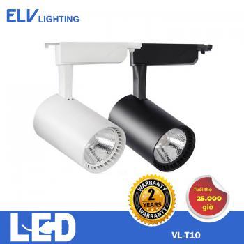Đèn LED rọi ray ELV 10W đen 3000K -  VLT10 GDS/XDS BK 30K/40K/65K